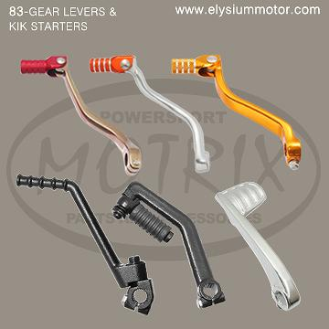 83_MOTORCYCLE GEAR LEVERS & KIK STARTERS