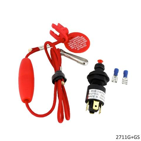 Emergency Cut-off Switch With Straight Lanyard