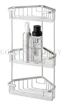 Metal Bathroom Shelf Rack. Bathroom 12  C2 B7 Closet Laundry 6