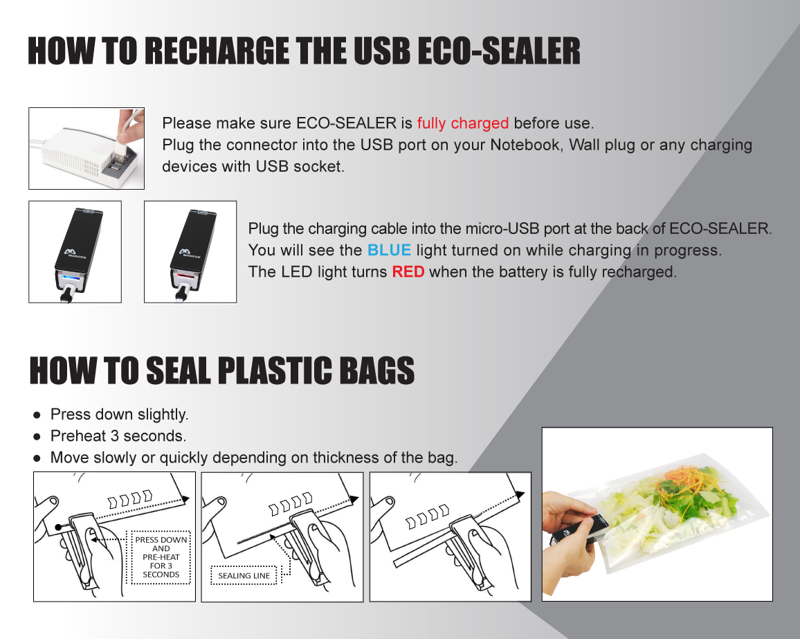How TO Use Eco Sealer