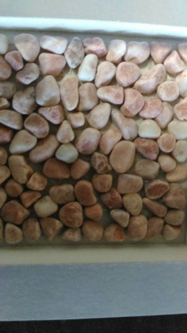 Custom Sized Pink Stone Slabs, Tiles, and Walls