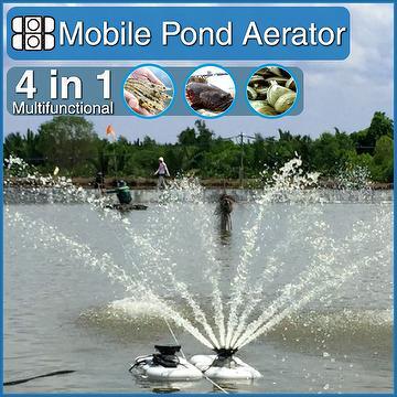Taiwan innovative mobile multifunctional fish pond jet for Koi pond jets