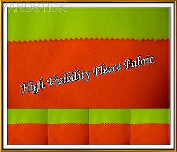 Hight Visibility Fabric in Fleece