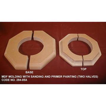 Taiwan mdf board molding with sanding and primer painting for Advanced molding and decoration