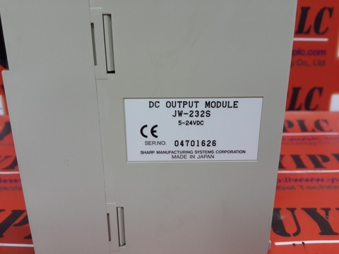 SHARP JW-232S DC OUTPUT MODULE