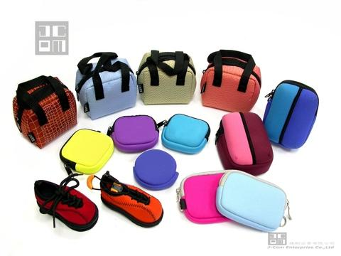 Neoprene / TPE Material Made Change Purse & Coin Pouch