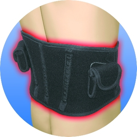 Heated Waist Braces & Supports Using