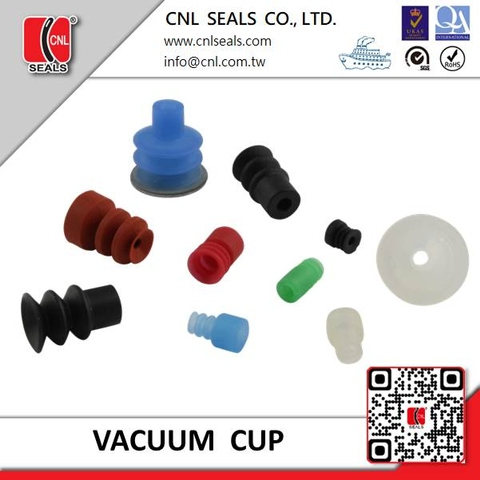 Rubber PU Suction Cups/Vacuum Pad  2.5 bellows  type