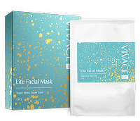 Super whitening moisturizing lite facial mask