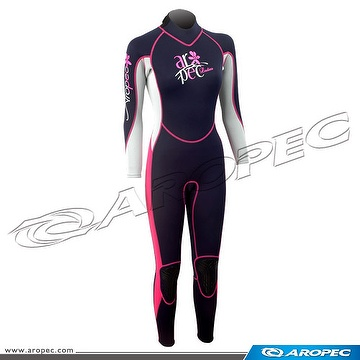 2.5mm Neoprene Fullsuit for Lady, Wetsuit, Diving Suit