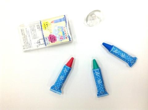 防水浴室用蠟筆