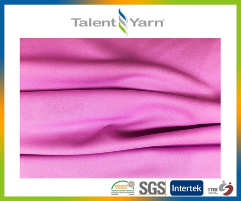 Functional polyester anti-uv , anti-bacteria interlock Fabric