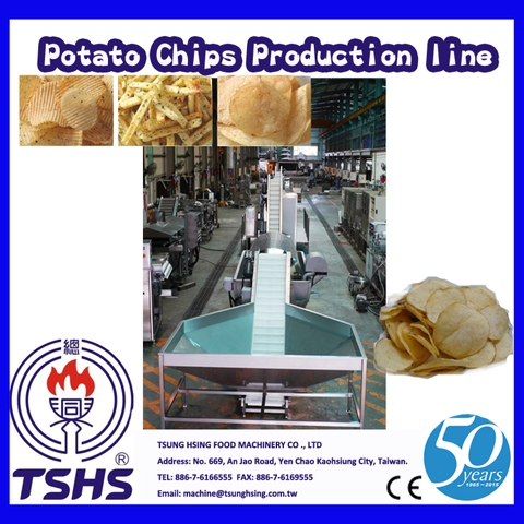 2014 Latest Continuity Stable Industry Potato Chips Manufacturer