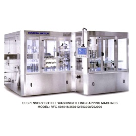 Suspensory filling machine