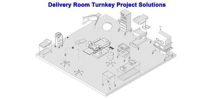 REXMED Delivery Room Turnkey Project Solutions