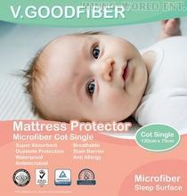 WATERPROOF MICROFIBER MATTRESS PROTECTOR