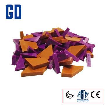 Two shape fraction set