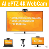 PTZ WebCam Powered by AI , with Auto Tracking