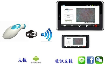 A skin-viewer application for smartphone and tablets PC.肌膚檢視器