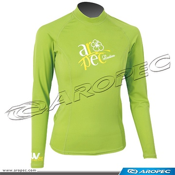 Lycra Long Sleeve Rash Guard, Lady