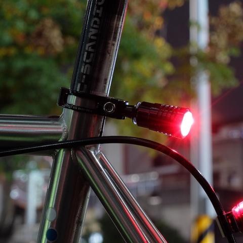 Make bike accessory on bike part.
