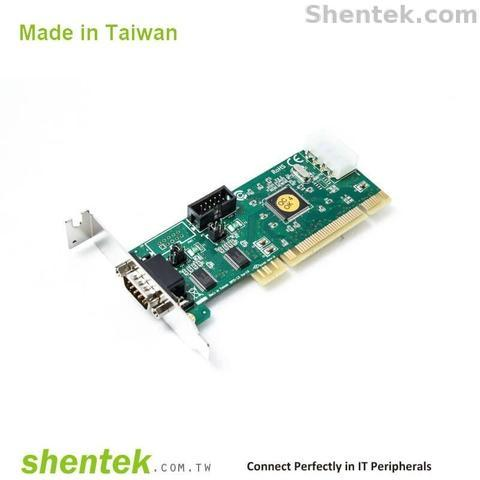 Shentek Industrial 2 Port RS232 PCI Card