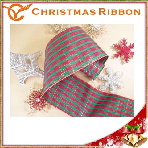 christmas grosgrain ribbon wholesale decoration