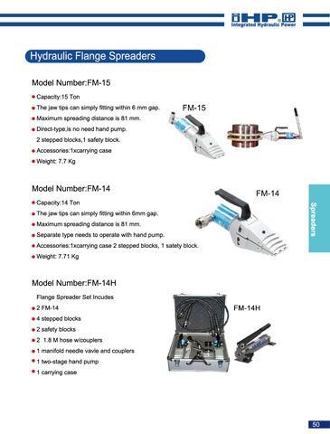 FM-14 Hydraulic Flange Spreader
