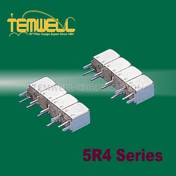 Helical Bandpass Filter- 5R 4 pole Fillter