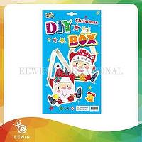 Art and Craft  Lovely Christmas Decoration Recycling DIY for Kid XMB010A