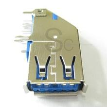 USB A Female 3.0 Side Dip 90° connector; I/O Connectors