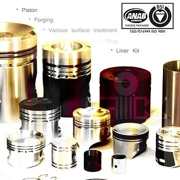 Piston,Liner Kit, Engine Parts with Full Range from Small Vehicle to Heavy Duty with Diesel Engine