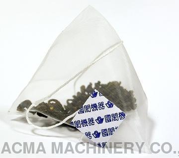 Nylon tea bag packaging machine