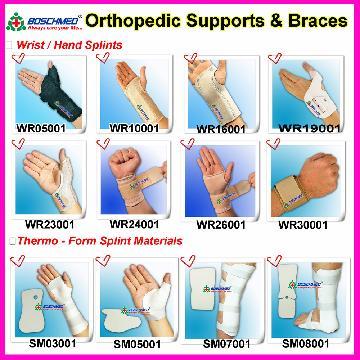 Taiwan Hand Wrist Thermo Form Finger Splint Brace