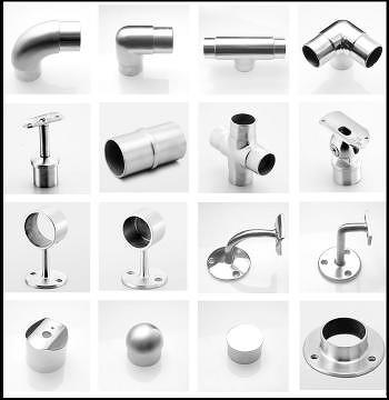 Handrail Fittings Stainless Steel Pipe Fittings Stainless Steel Building Hardware Architectural Hardware Stainless Steel Hardware Balustrade Parts ...  sc 1 st  Taiwantrade & Taiwan Handrail Fittings Stainless Steel Pipe Fittings Stainless ...