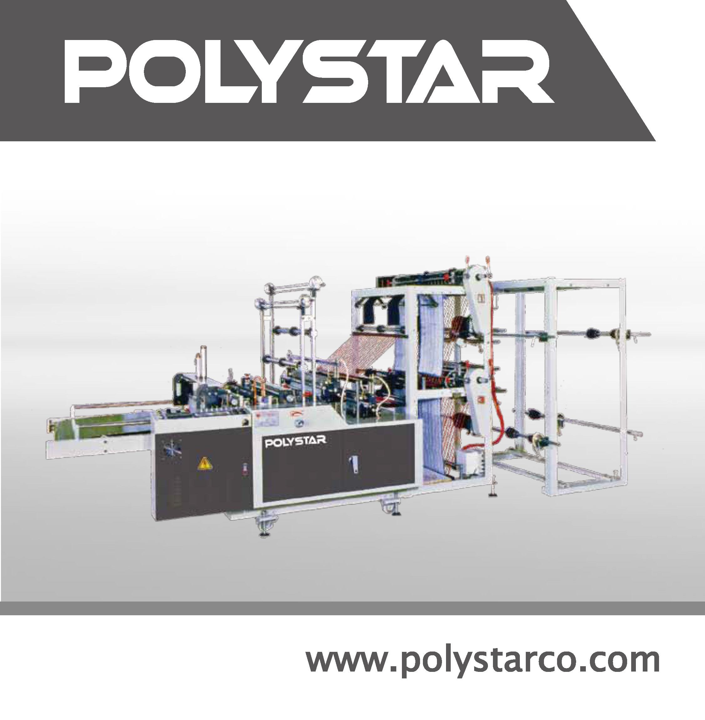 Taiwan T Shirt Bag Making Machine Price Polystar Machinery Co Ltd