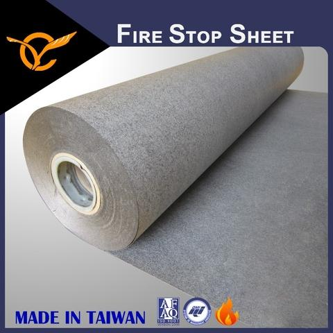 Certified Smoke Seal Fireproof Intumescent Sheet