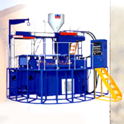 Rainboots machine : R-12 Fully Automatic Rotary System Plastic Rainboots Injection Molding Machine