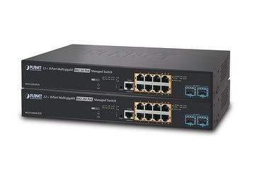L2+ 8-Port 2.5G 802.3bt/at PoE + 2-Port 10G SFP+ Managed Multigigabit Switch