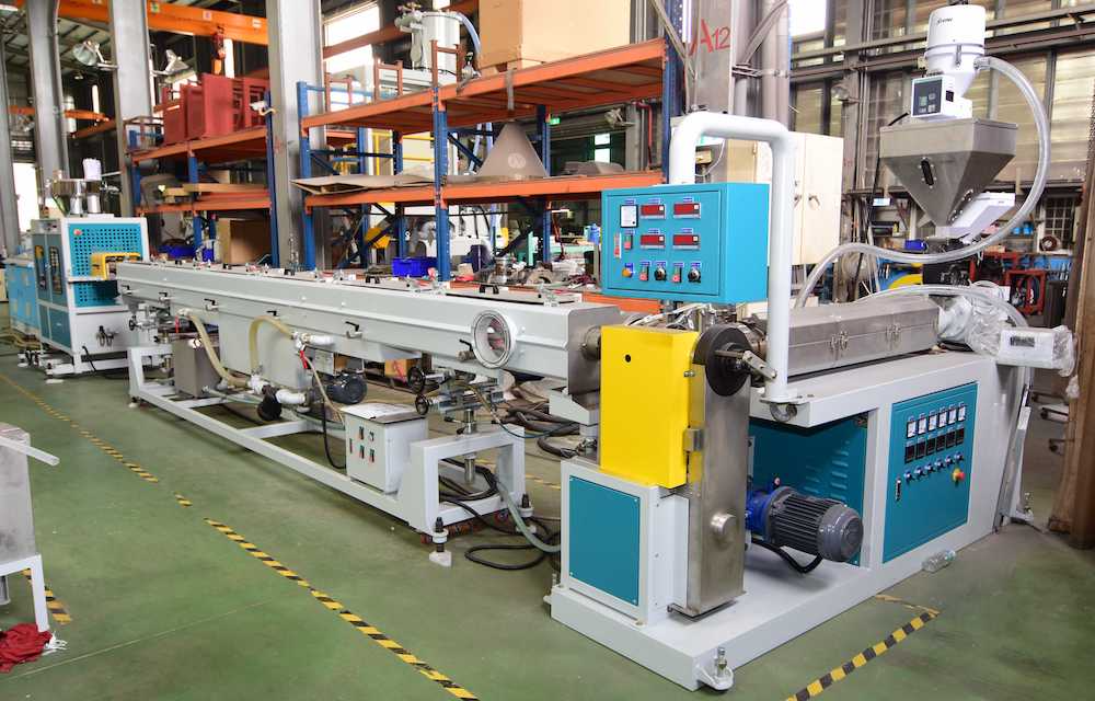 Diamond Net Pipe Machine Line