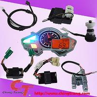 oil light, rpm sensor, resister comp, lighter controller, speedometer, hazard control unit....