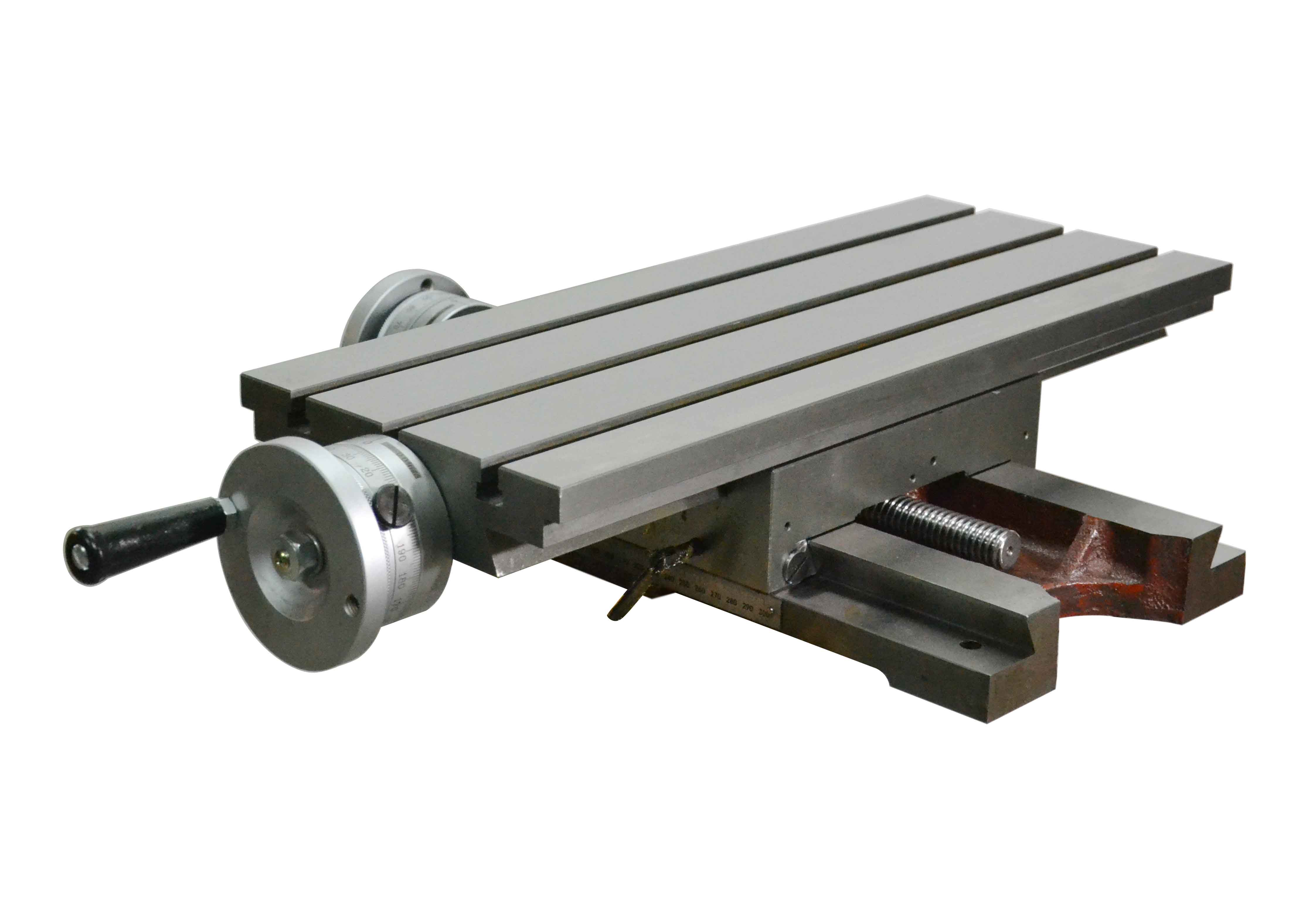 Taiwan T Slot Cross Slide Vise Table Mounted On Drilling