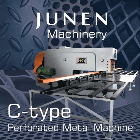 JUNEN C-type Perforated Metal Machine(5ft)