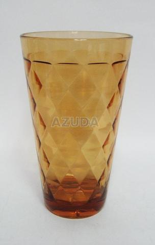 ACRYLIC TALL TUMBLER DIAMOND DESIGN
