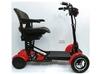 Folding Power 4-wheels scooter for elderly people