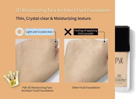 PSK Make Up Caramel Color Moisturizing Fluid Foundation