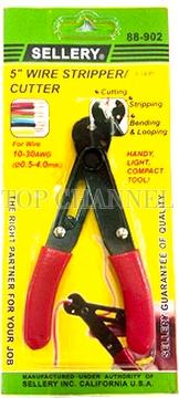 "SHELLER 5"" WIRE CUTTER & STRIPPER"