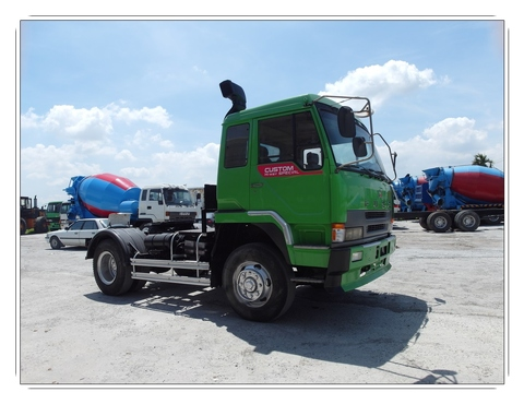 [8R-927] Used Fuso prime mover for sale