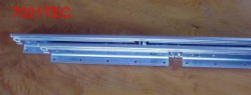 DRAWER SLIDE WITH STEEL BALL BEARING SLIDE