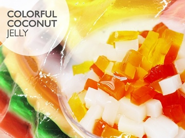 COLORFUL COCONUT JELLY